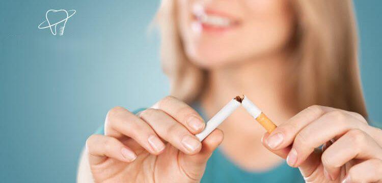اثر سیگار و دخانیات روی ایمپلنت دندان