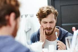 درد اطراف روکش دندان